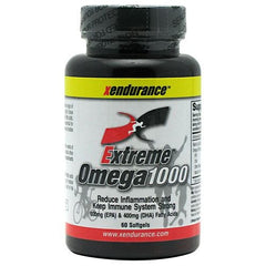 Xendurance Extreme Omega 1000 - 60 Softgels - 60 Softgels - 855532002066