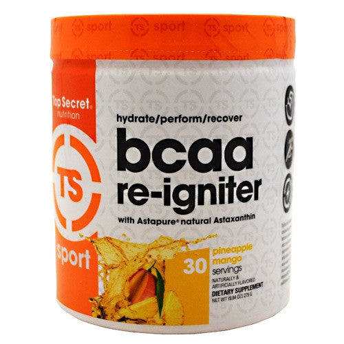 Top Secret Nutrition BCAA re-igniter - Pineapple  Mango - 9.3 g - 811226021867