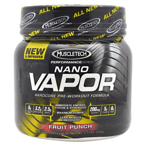 MuscleTech Performance Series Nano Vapor - Fruit Punch - 1.2 lb - 631656703122