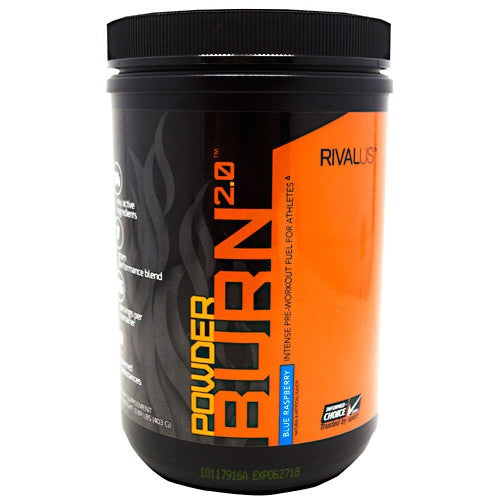 Rivalus Powder Burn 2.0 - Blue Raspberry - 403 g - 807156002014