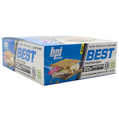 BPI Best Protein Bar - Smores - 12 Bars - 811213024826