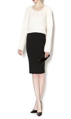 Lumiere Sweater Skirt Grey