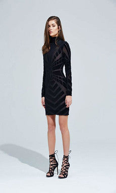 Bless'ed Are The Meek Vista Knit Long Sleeve Dress