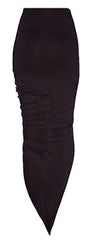 BLQ Basiq Wrap Skirt Black