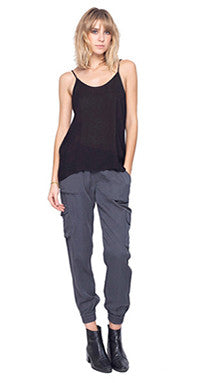 Gentle Fawn Covert Pant Charcoal