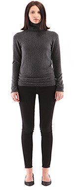 Hye Park & Lune Brooklyn Turtleneck Charcoal