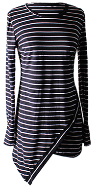 Slim Striped Dress