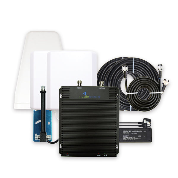 Signal Booster Plus Full Kit - Mobile Repeater UK