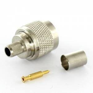 N-Male Crimp Connector - MR UK