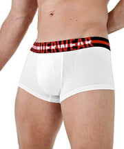 Hipster Trunk - Black & Red