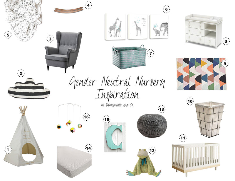 Gender Neutral Nursery Inspiration for Expecting Moms | My Favorites