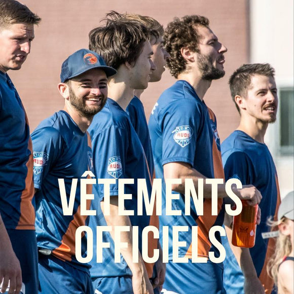 Vêtements officiels AUDL