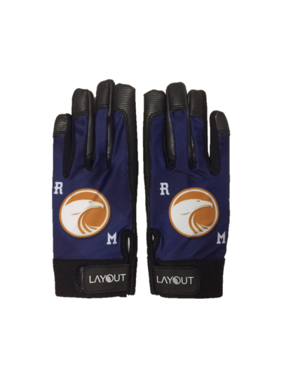 Gants Layout Gloves - logo RM