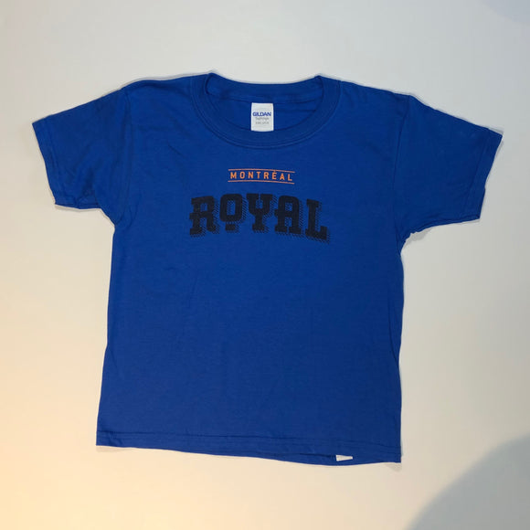 T-shirt - enfants - bleu royal