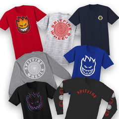 SPITFIRE GIRL ASSORTED SHORT SLEEVE TEES