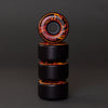 F4 99 EMBERS CONICAL FULL BLACK/ORANGE SWIRL 50-50 53MM