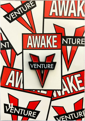 VE AWAKE LAPEL PIN
