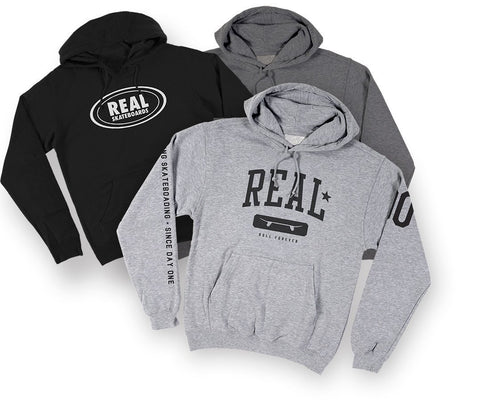 REAL ASSORTED HOODIES