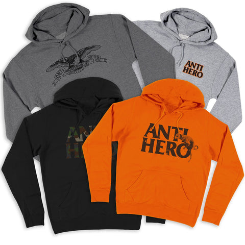 ANTIHERO ASSORTED HOODIES