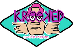 Krooked Arketype Sticker