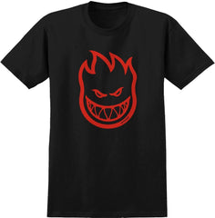 Spitfire Bighead Black/ Red Tee, YOUTH