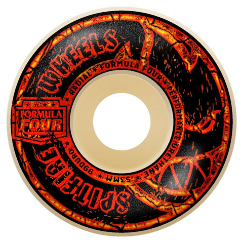 F4 99 EMBERS RADIAL NATURAL 53MM