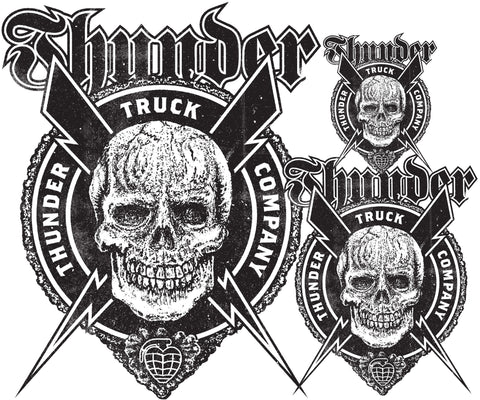 Thunder Por Vida Die Cut Sticker