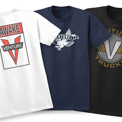 VENTURE ASSORTED TEES
