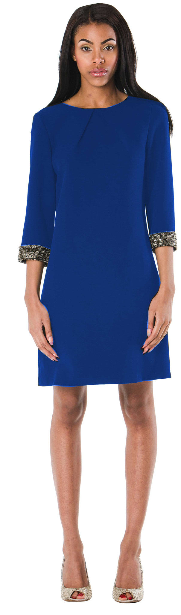 Lafayette Shift Dress/ Royal Blue