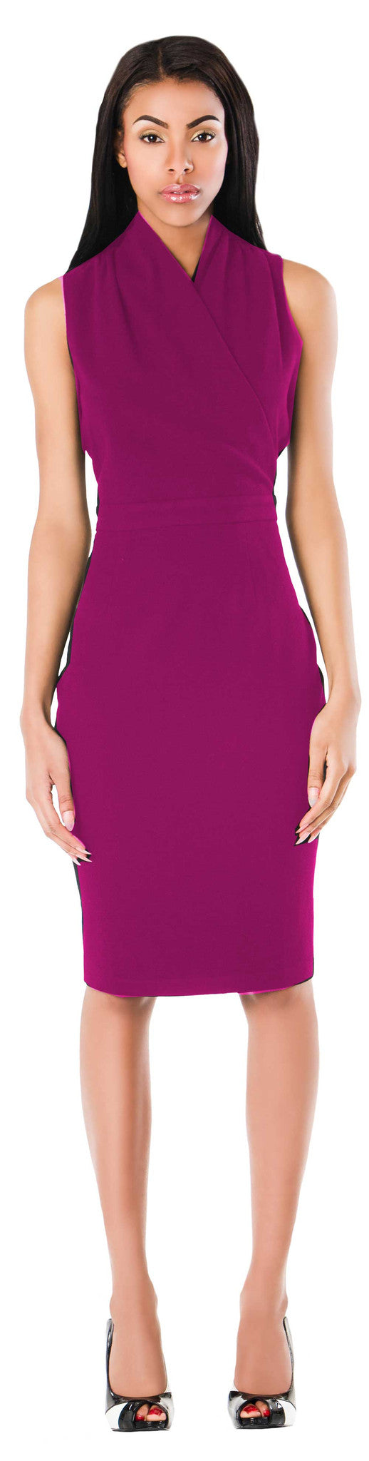 New York Dress/ Cerise Pink