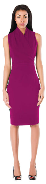 New York Dress/ Cerise Pink - ABIODUN