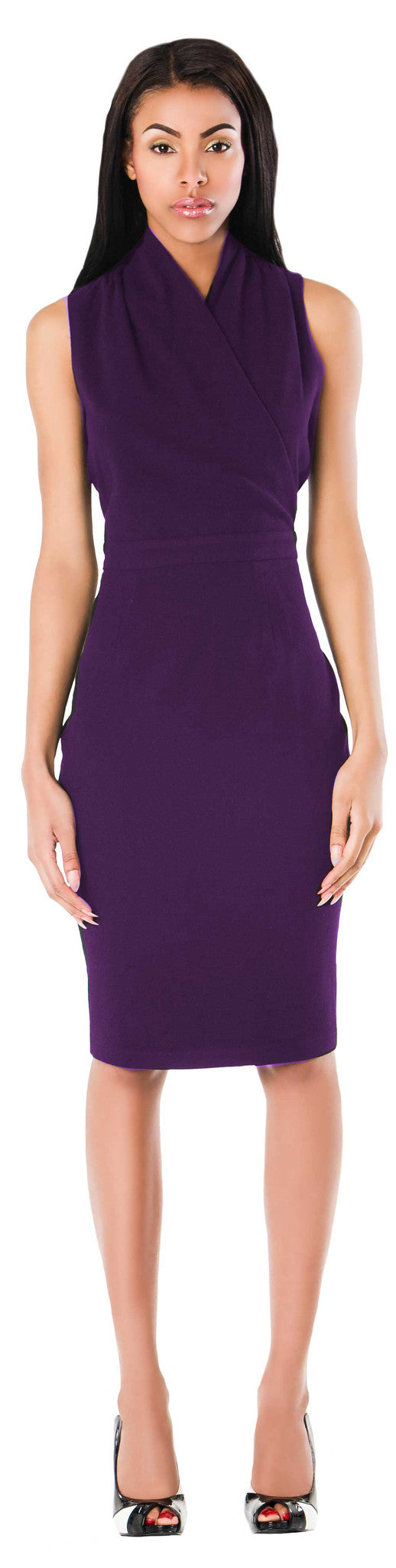 New York Dress/ Purple