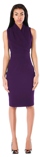New York Dress/ Purple - ABIODUN