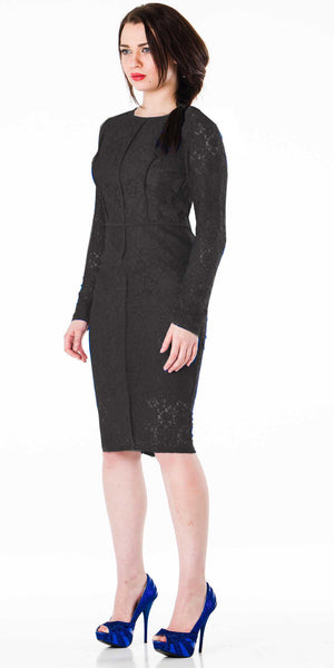 Regency Dress Black - ABIODUN  - 2