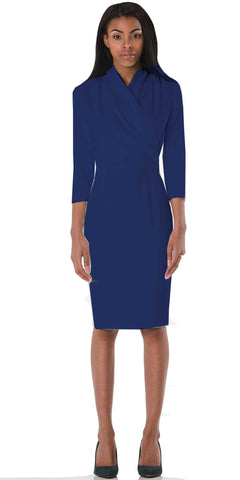 Royal Blue Washington Dress