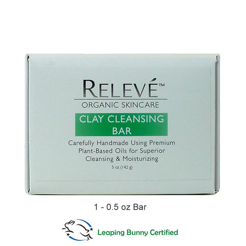 Organic Clay Cleansing Soap Bar