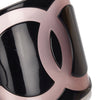 Black Chanel CC Resin Bangle