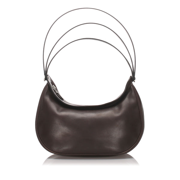 Brown Hermes Caporal Leather Bag