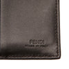 Black Fendi Leather Bifold Wallet