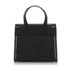 Black Ferragamo Leather Vara Handbag Bag