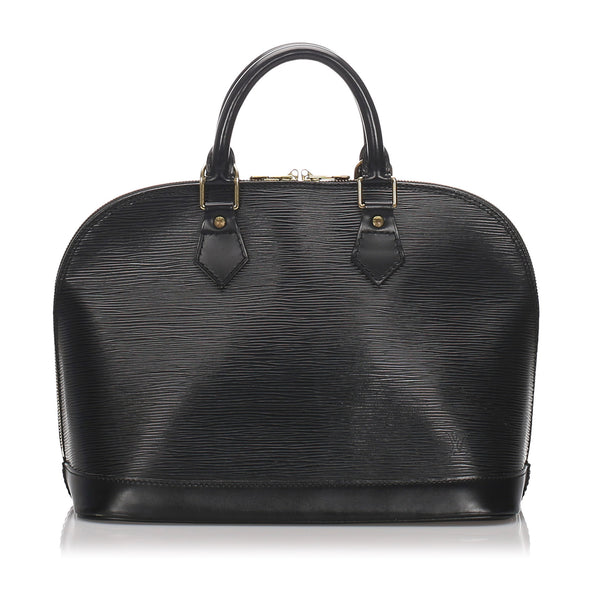 Black Louis Vuitton Epi Alma PM Bag