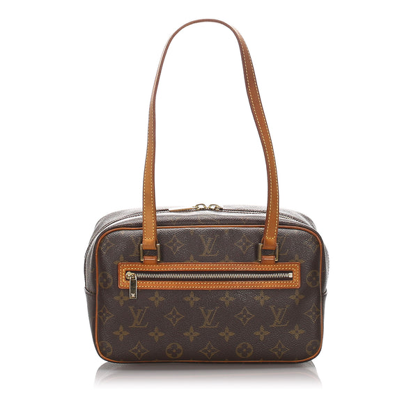 Brown Louis Vuitton Monogram Cite MM Bag