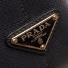 Black Prada Leather Saffiano Galleria Briefcase Bag