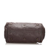 Brown Chloe Leather Paddington Handbag Bag