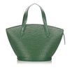 Green Louis Vuitton Epi Saint Jacques PM Short Strap Bag
