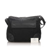 Black Prada Nylon Crossbody Bag