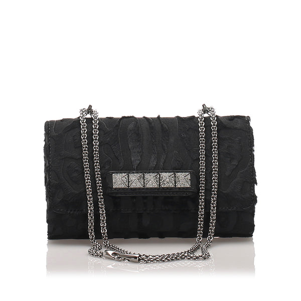 Black Valentino Rockstud VaVa Voom Crossbody Bag