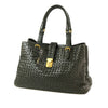 Black Bottega Veneta Large Roma Intrecciato Tote Bag