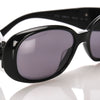 Black Chanel Camellia Tinted Sunglasses
