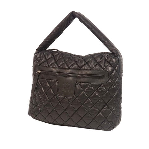 Black Chanel Cocoon Shoulder Bag